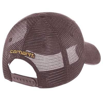 Carhartt Women's Steel Blue Buffalo Cap - back