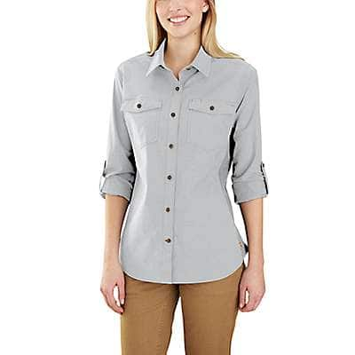 Carhartt Women's Brick Dust Rugged Flex Bozeman Shirt - front