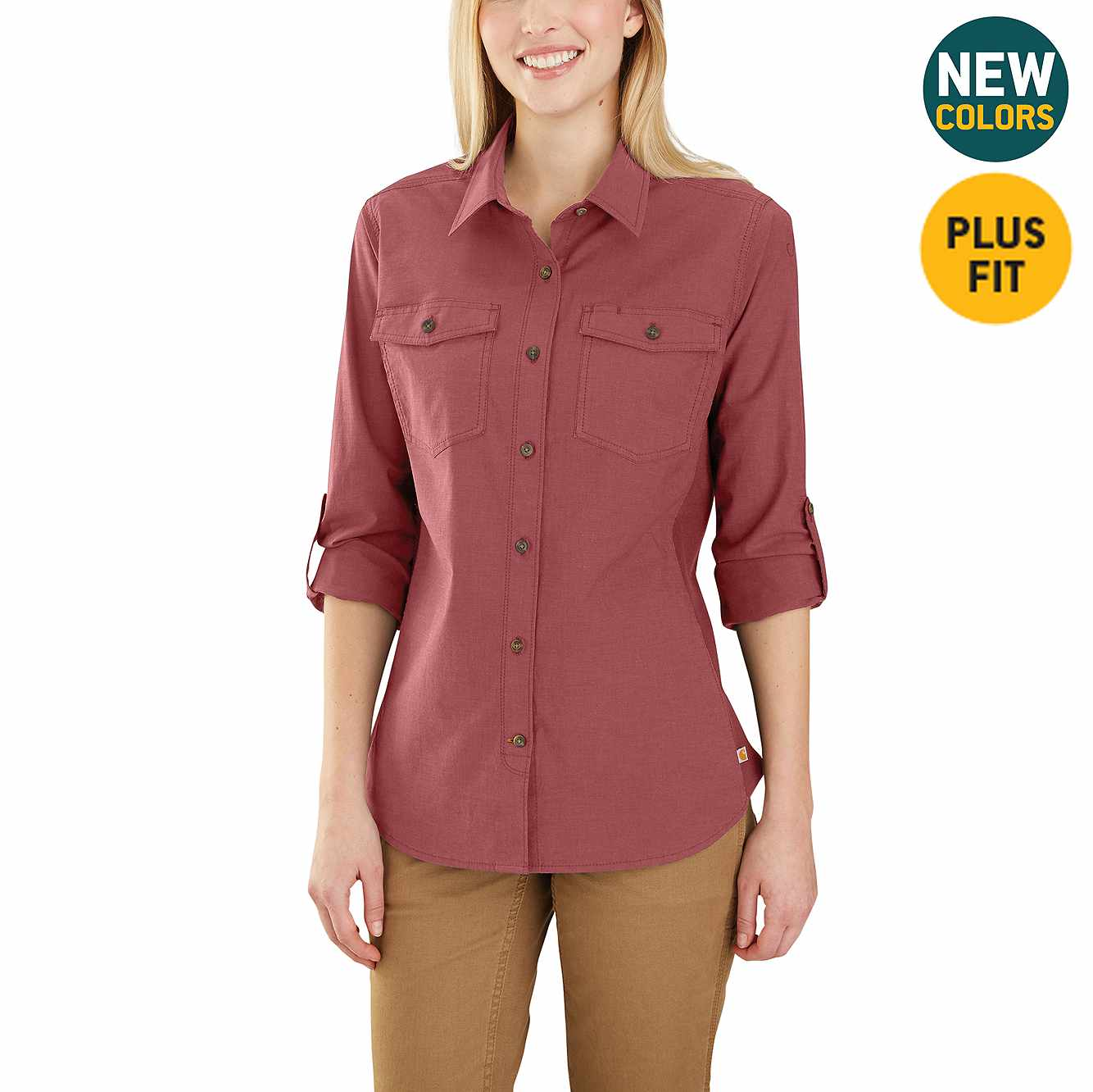 Picture of Rugged Flex Bozeman Shirt in Claystone