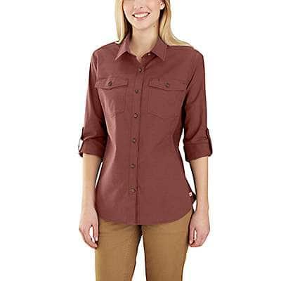 Carhartt Women's Henna Rugged Flex Bozeman Shirt - front