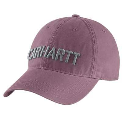Carhartt  Lavender Shadow Odessa Graphic Cap - front