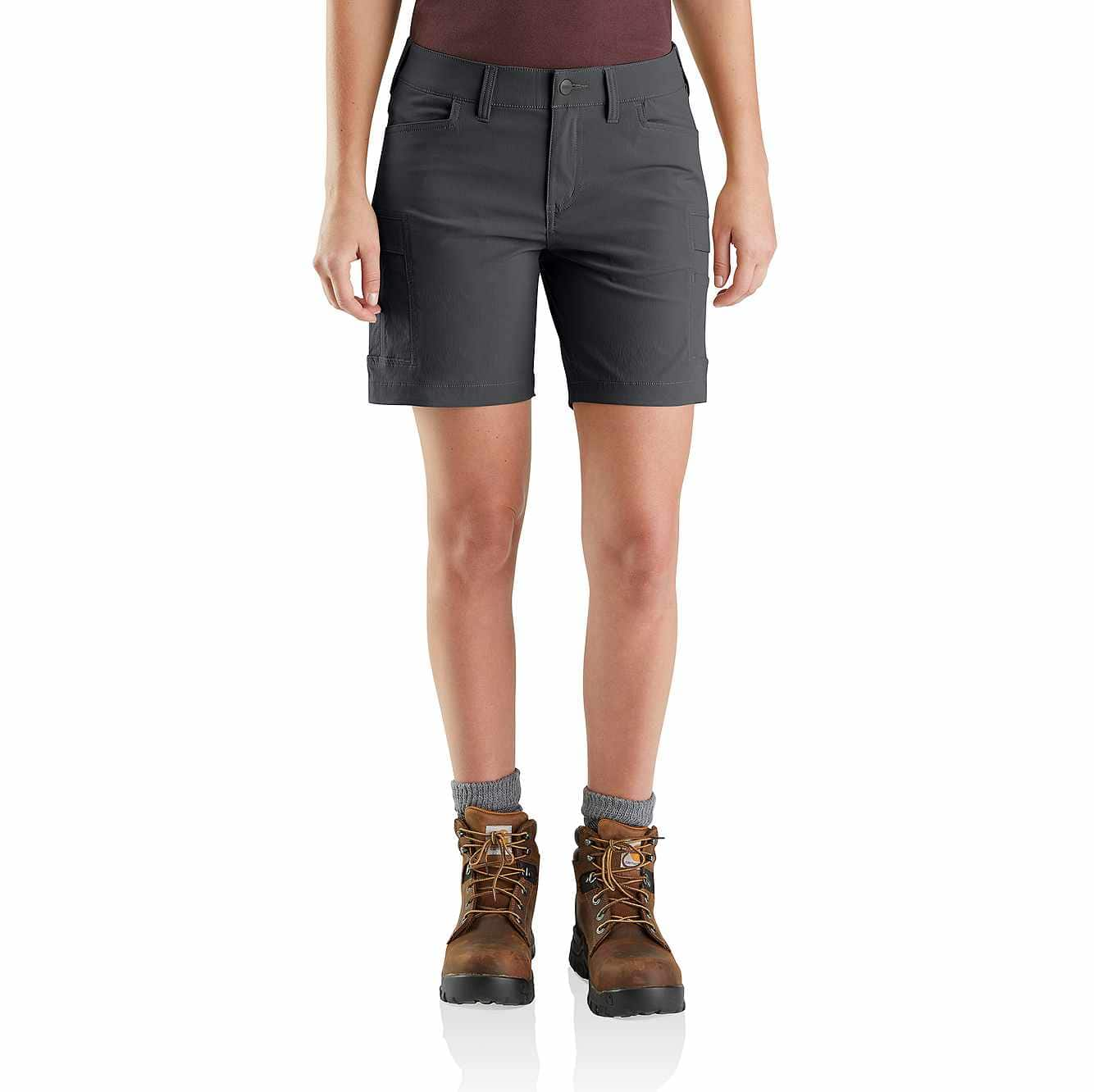 Picture of Straight Fit Carhartt Force Madden Cargo Short in Shadow