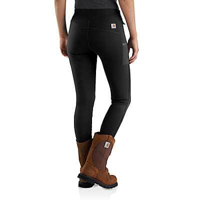 Carhartt Women's Black Carhartt Force Lightweight Utility Legging - back