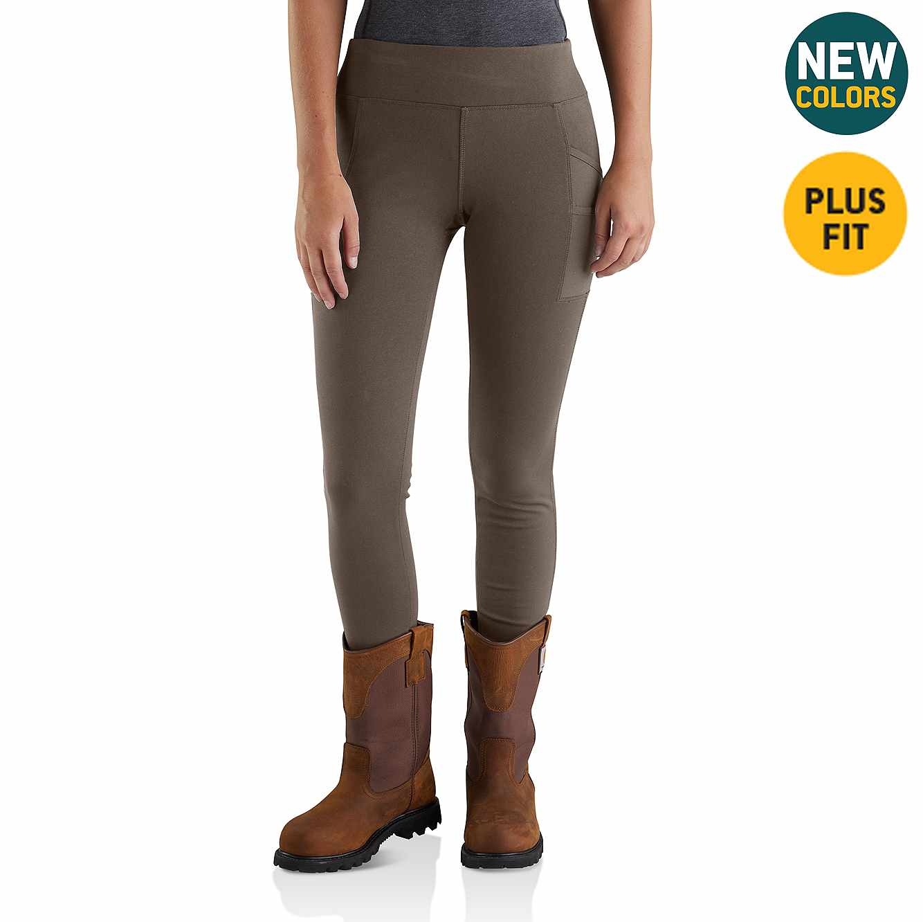 Picture of Carhartt Force Lightweight Utility Legging in Tarmac