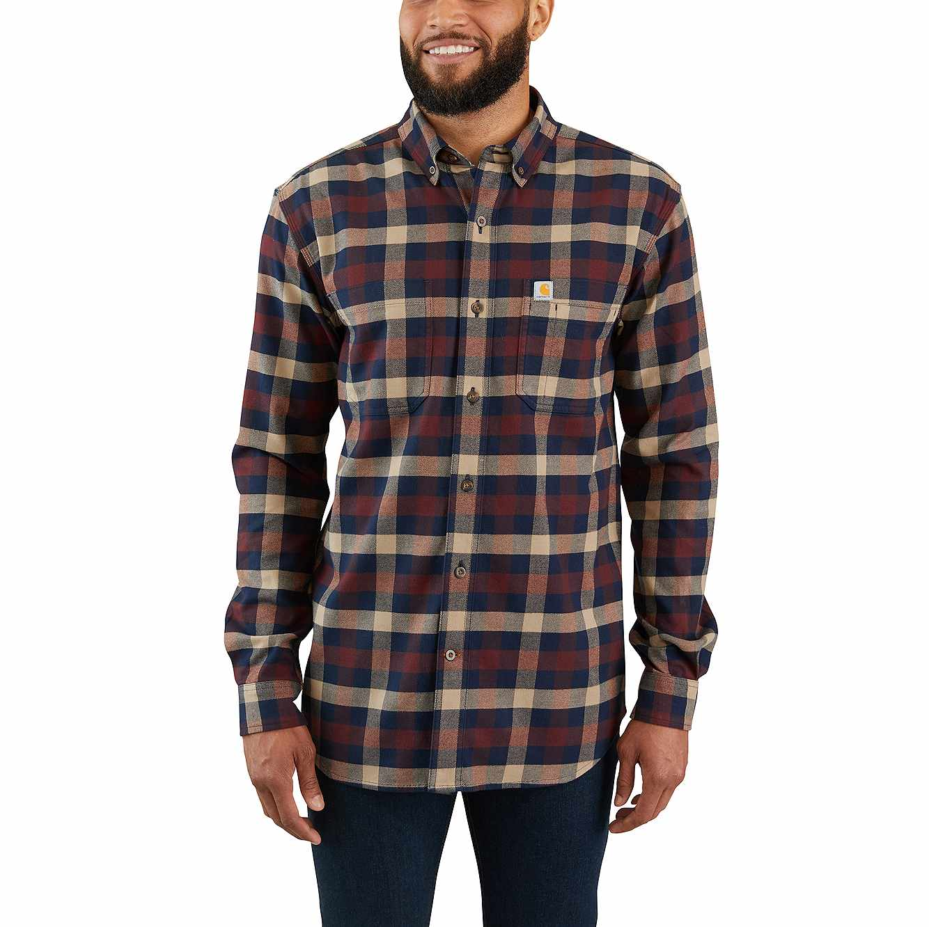 uk store new concept well known Rugged Flex® Hamilton Flannel Plaid Shirt