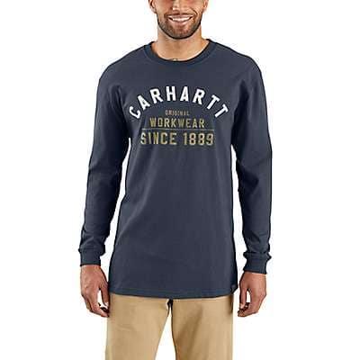 Carhartt T-Shirt Maddock Graphic Work Crew 102095