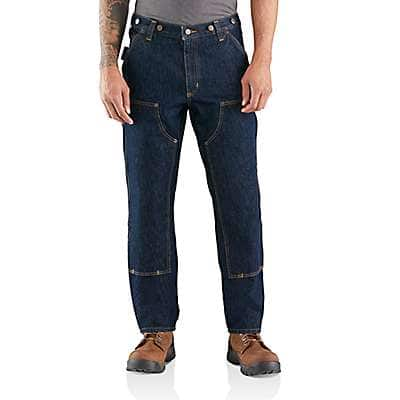 Carhartt Men's Freight Rugged Flex® Relaxed Fit Heavyweight Double-Front Utility Logger Jean