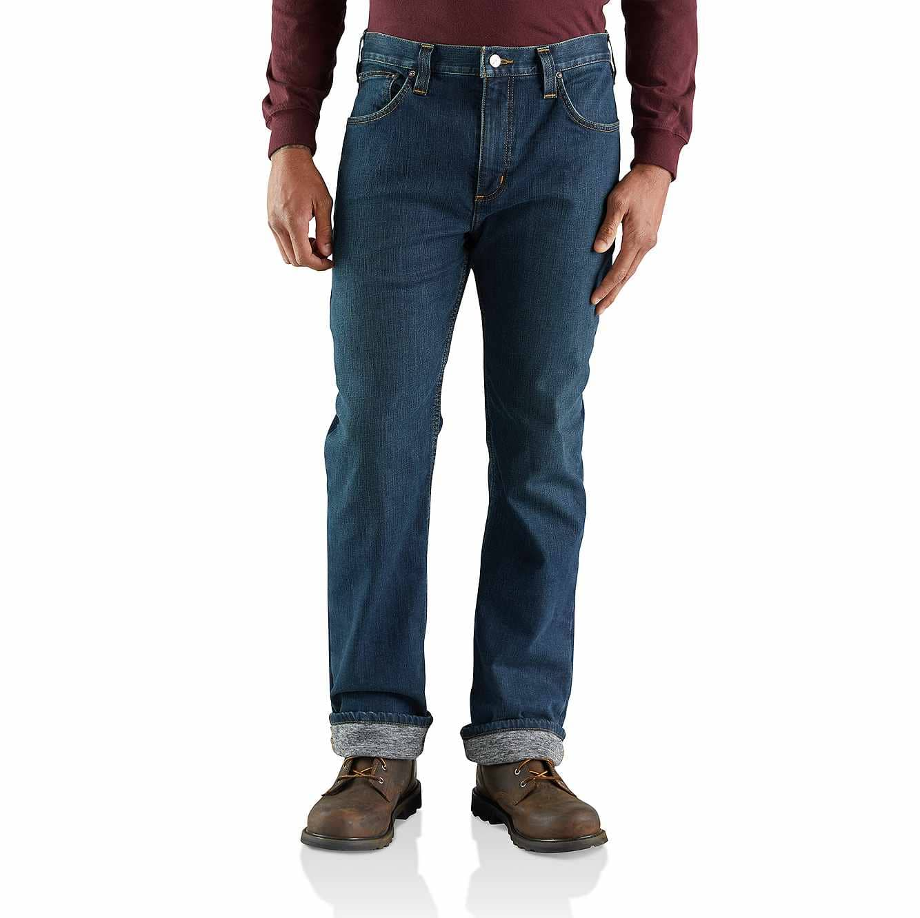 Picture of Rugged Flex® Relaxed Straight Jean Knit-Lined in Superior
