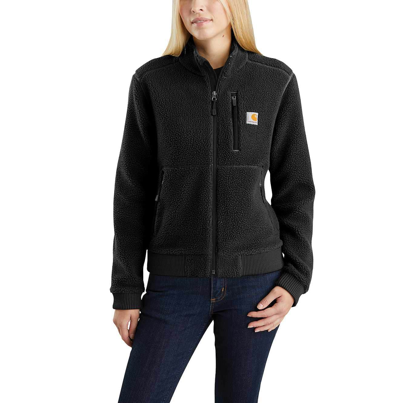 Picture of Sherpa Jacket in Black
