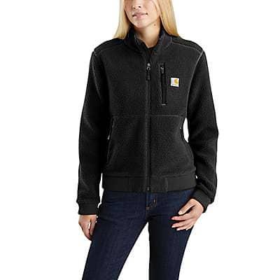 Carhartt Women's Black Sherpa Jacket