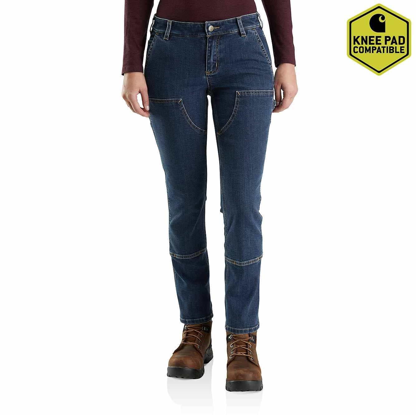 Women S Straight Fit Double Front Jean 103915 Carhartt Discover women's jeans at asos. straight fit double front jean