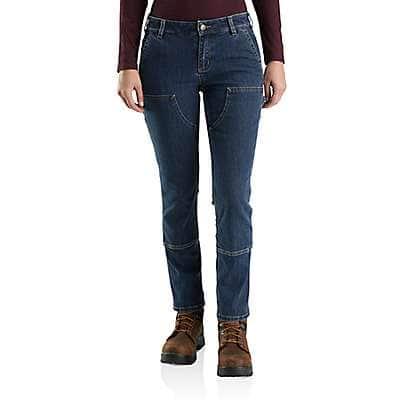 Carhartt Women's Rainwash Rugged Flex® Relaxed Fit Double-Front Jean