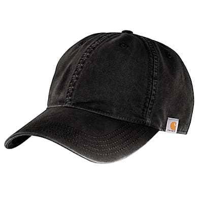 Carhartt Men's Black Cotton Canvas Cap