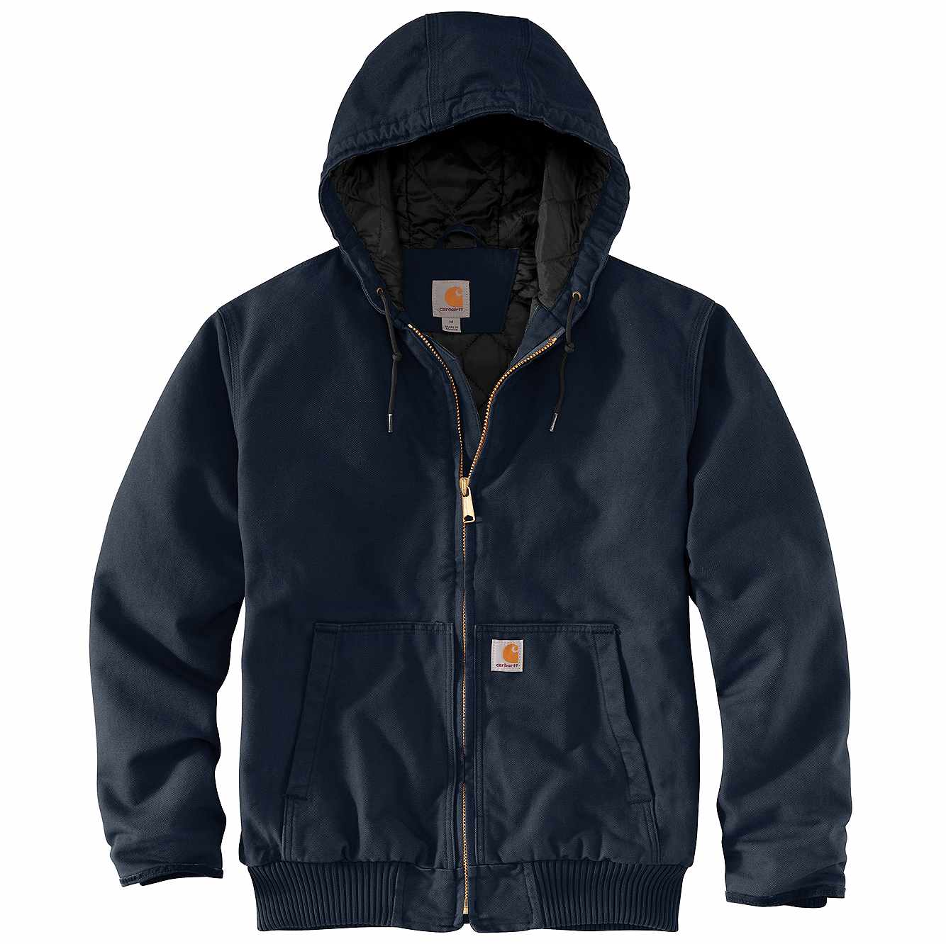 Picture of Washed Duck Insulated Active Jac in Navy