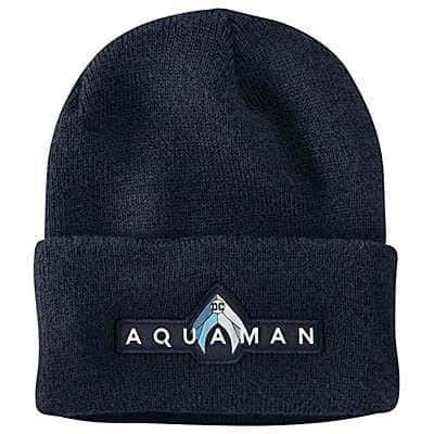 Carhartt Unisex Navy Aquaman Acrylic Watch Hat - front