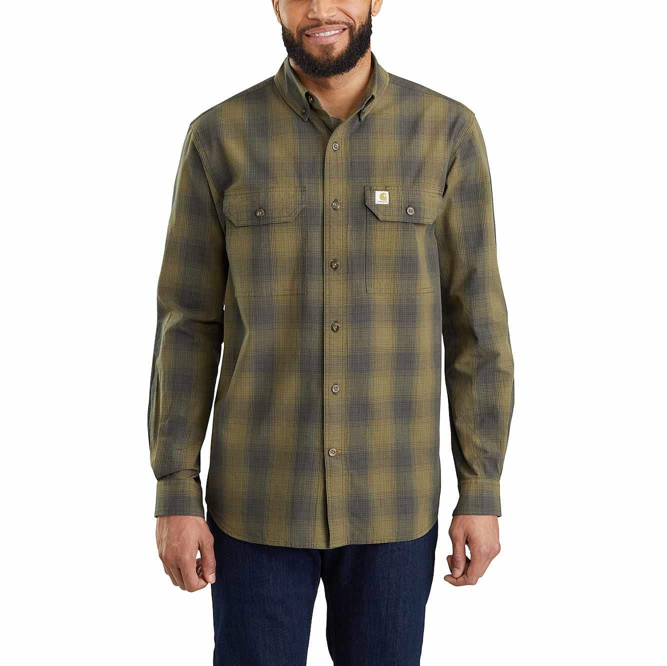 coupon code most popular top quality Fort Plaid Long-Sleeve Shirt