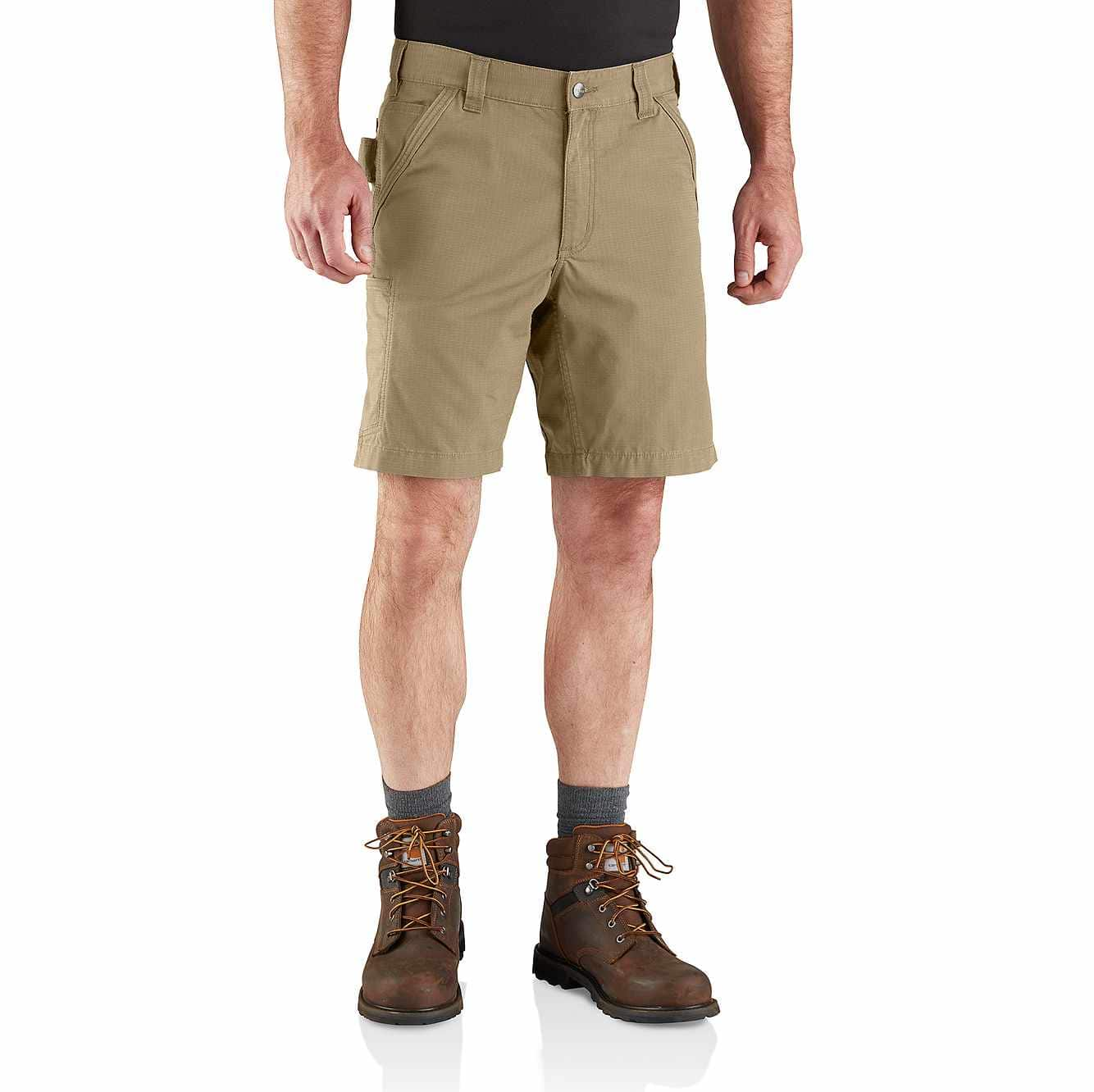Picture of Force® Relaxed Fit Ripstop Short in Dark Khaki