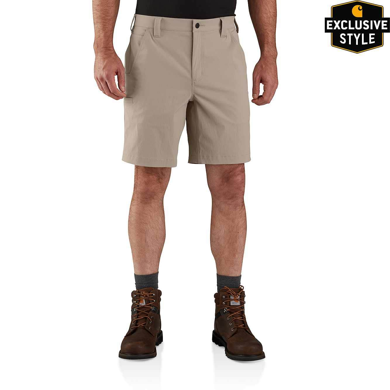 Picture of FORCE® RELAXED FIT NYLON RIPSTOP WORK SHORT in Tan