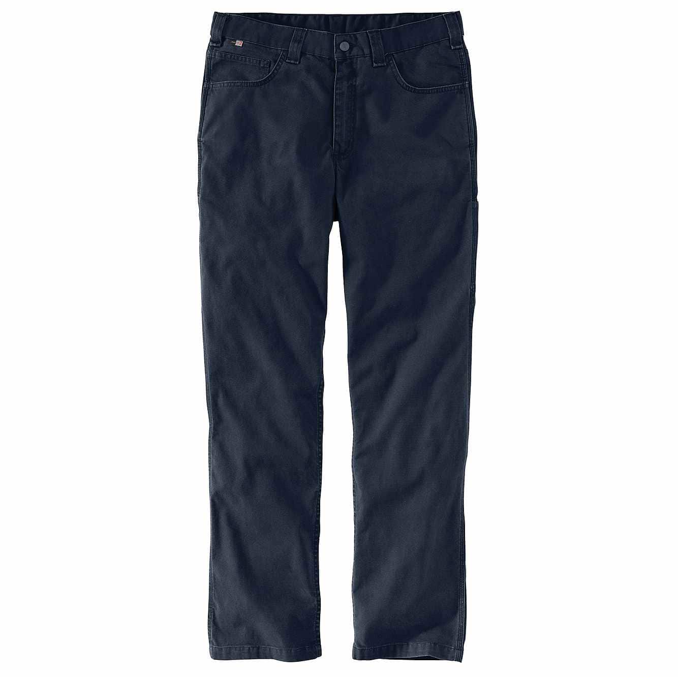 Picture of Flame-Resistant  Rugged Flex® Relaxed Fit Rigby Pant in Navy
