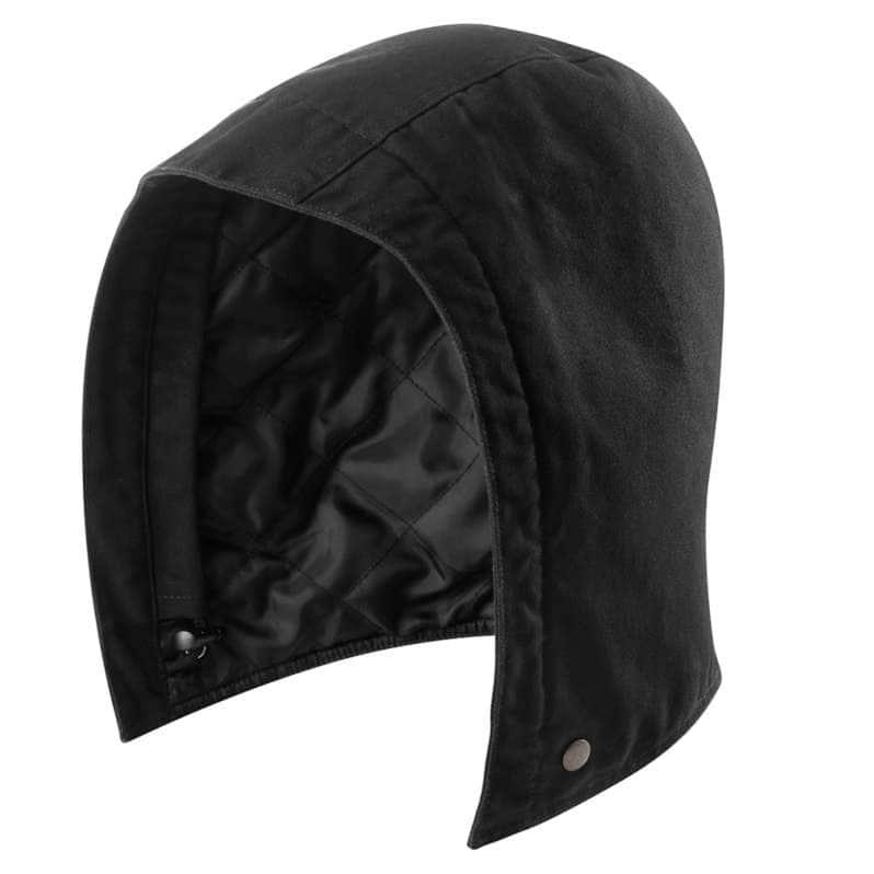 Carhartt  Black Washed Duck Insulated Hood