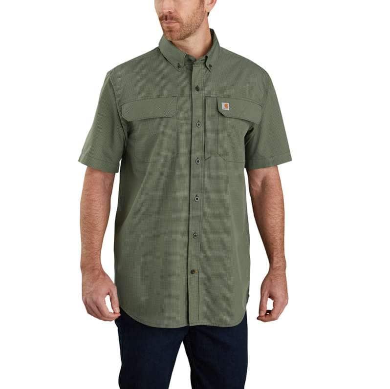 Carhartt  Peat Force Relaxed Fit Lightweight Short Sleeve Shirt
