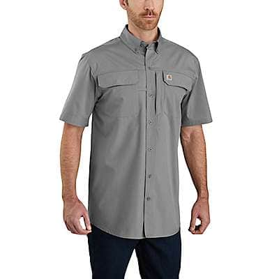 Carhartt Men's Asphalt Force Relaxed Fit Lightweight Short Sleeve Shirt