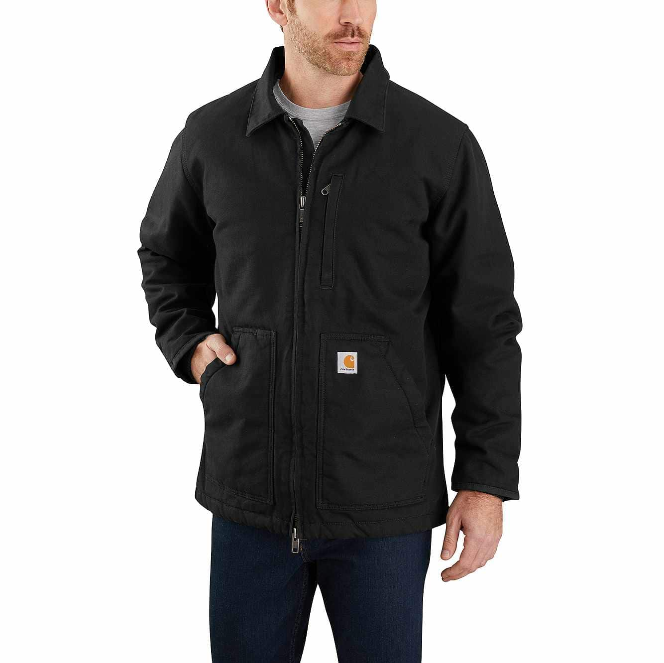 Picture of Carhartt® Sherpa-Lined Coat in Black