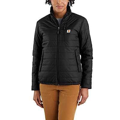 Carhartt Women's Black Women's Rain Defender® Relaxed Fit Lightweight Insulated Jacket