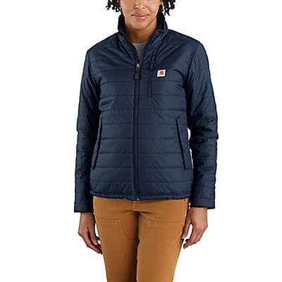 Carhartt Women's Navy Women's Rain Defender® Relaxed Fit Lightweight Insulated Jacket