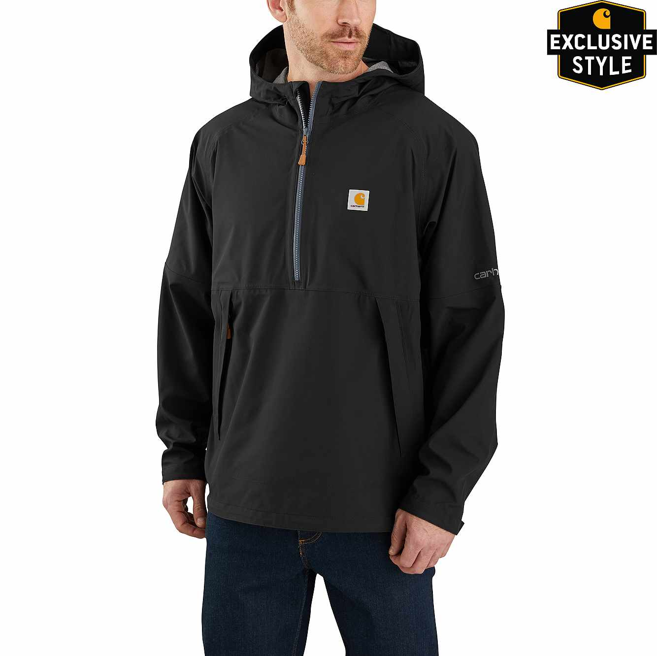 Picture of Storm Defender® Jersey-Lined Hooded Anorak