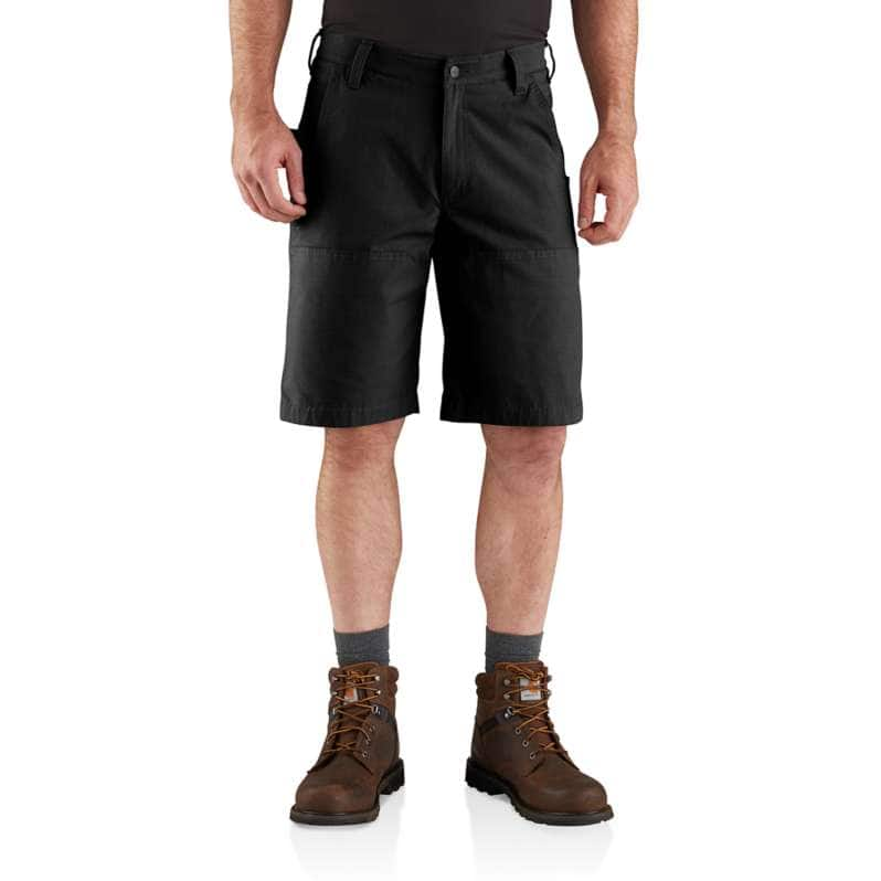 Carhartt  Black Steel Rugged Flex® Relaxed Fit Utility Short