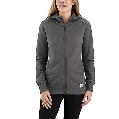 Carhartt Women's Carbon Heather Rain Defender® Relaxed Fit Midweight Tunic Sweatshirt