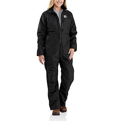 Carhartt Women's Black Carhartt® Yukon Extremes® Insulated Coverall