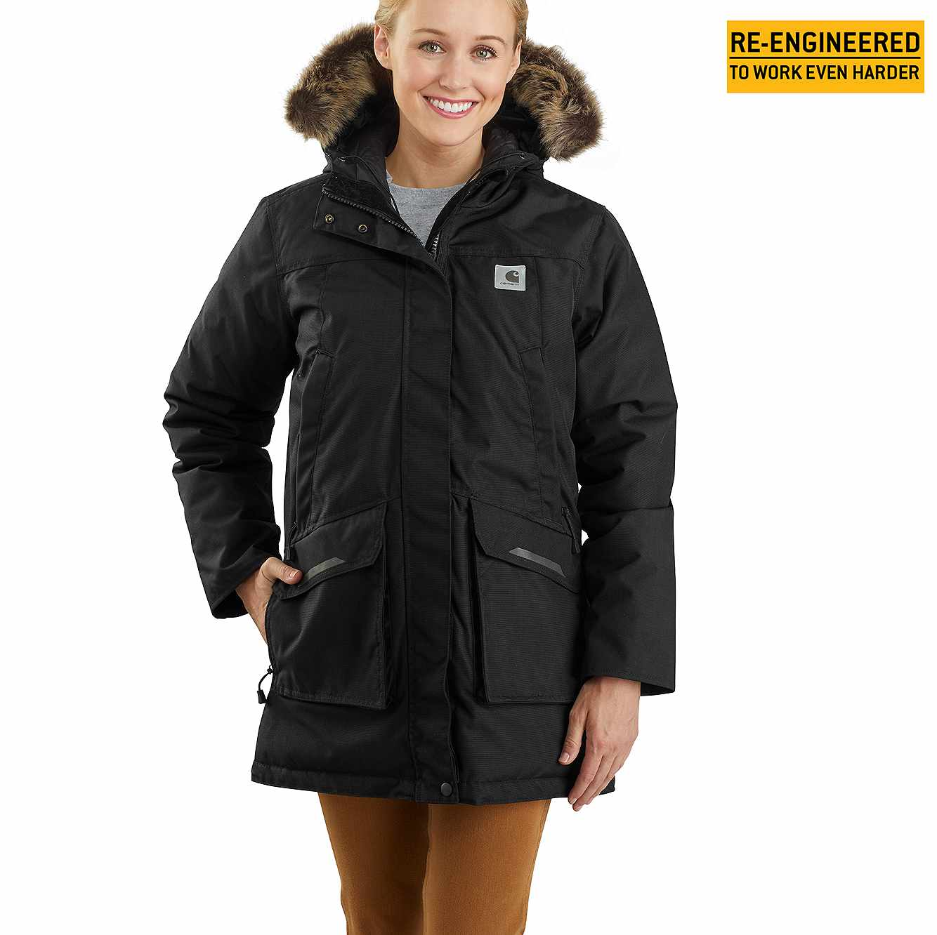 Picture of Carhartt® Yukon Extremes® Insulated Parka in Black