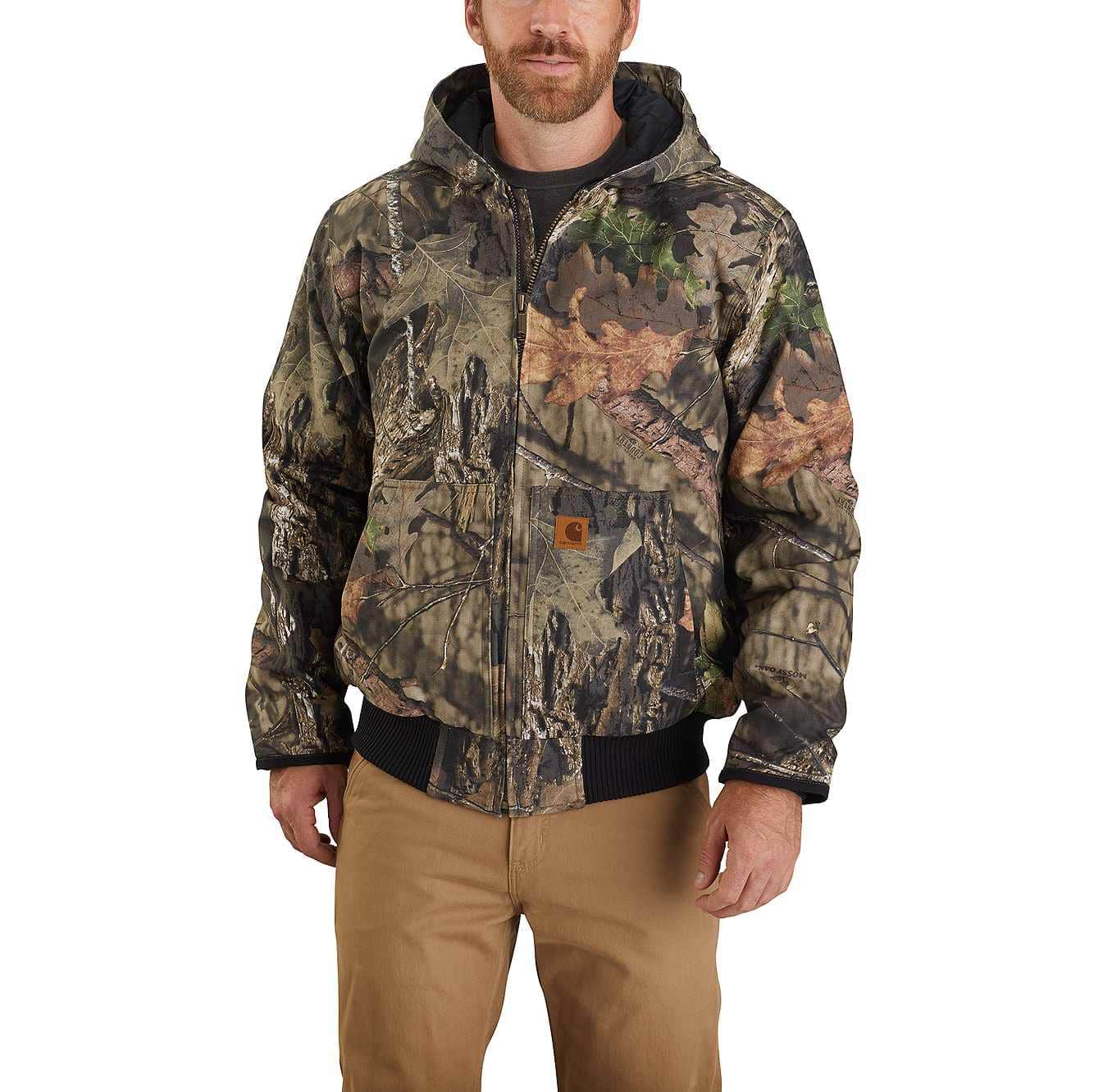Picture of Carhartt® Hunt Duck Insulated Camo Active Jac in Mossy Oak Break-Up Country