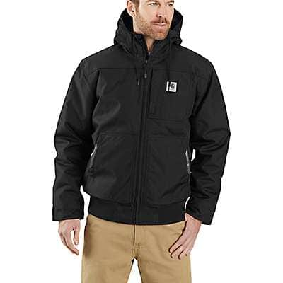 Carhartt Men's Black Yukon Extremes® Loose Fit Insulated Active Jac