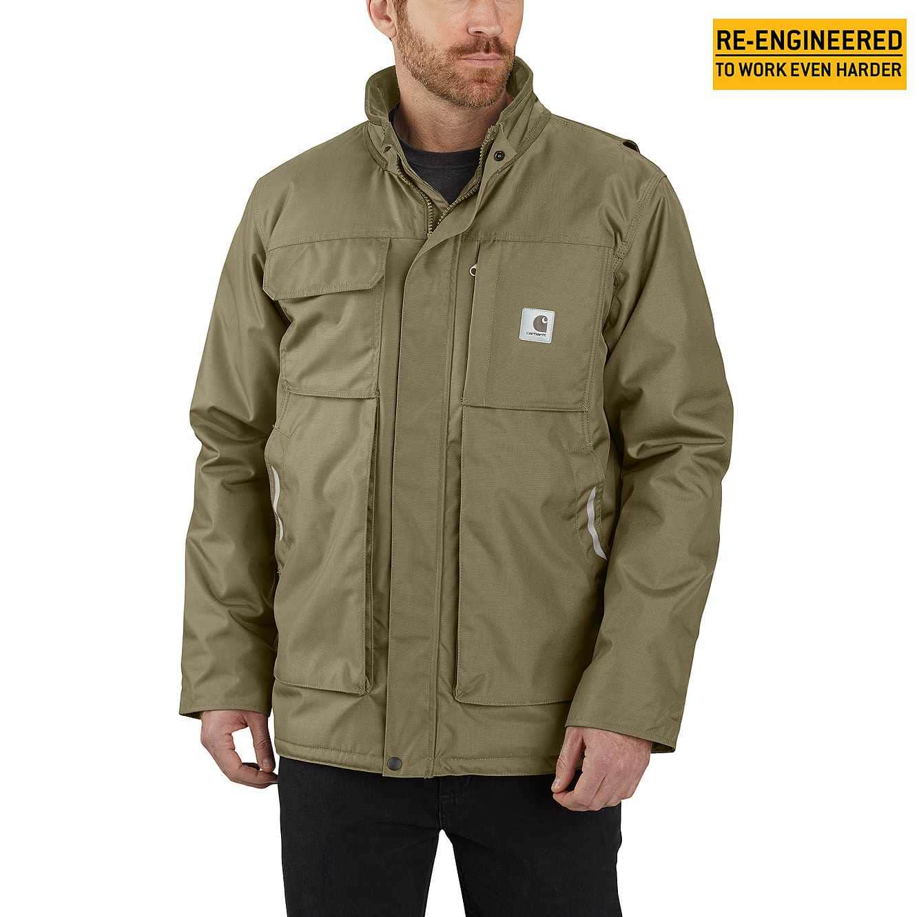 Picture of Carhartt® Yukon Extremes® Full Swing® Insulated Coat in Burnt Olive