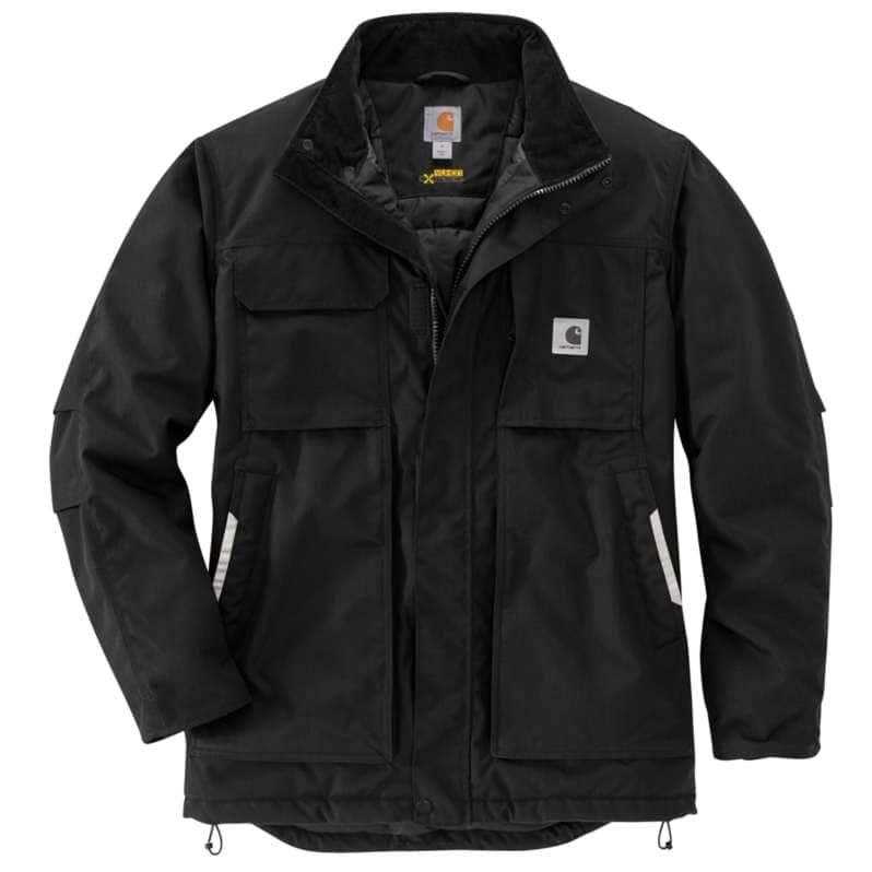 Carhartt  Black Carhartt® Yukon Extremes® Full Swing® Insulated Coat