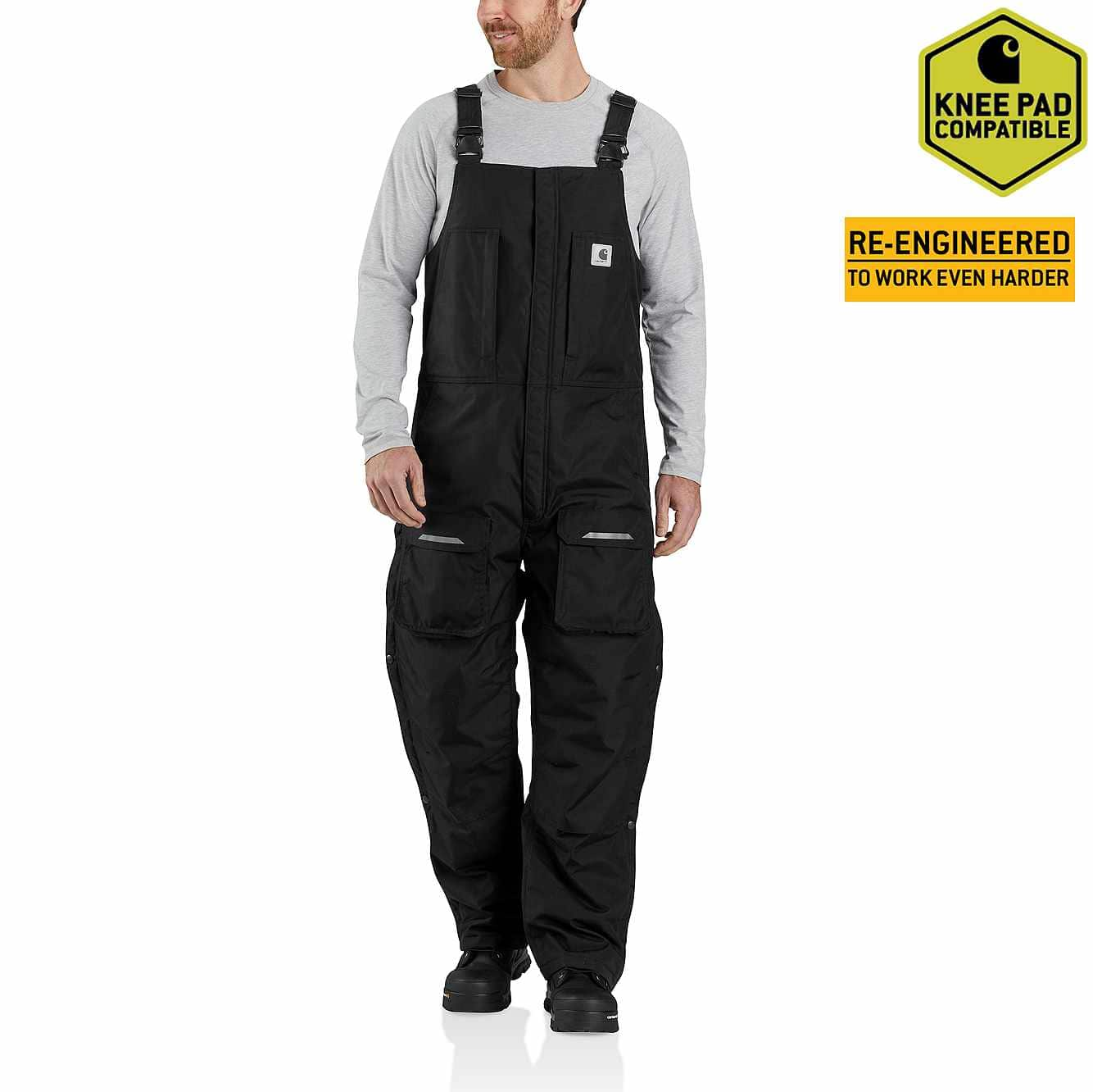 Picture of Carhartt® Yukon Extremes® Insulated Biberall in Black