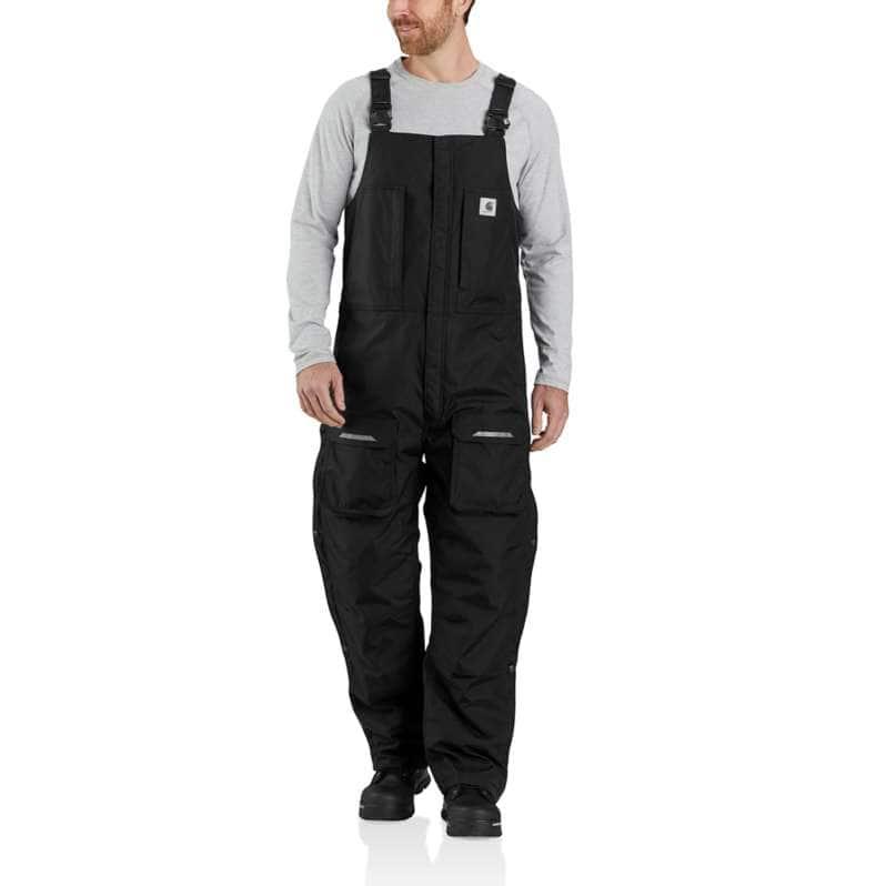 Carhartt  Black Yukon Extremes® Loose Fit Insulated Biberall