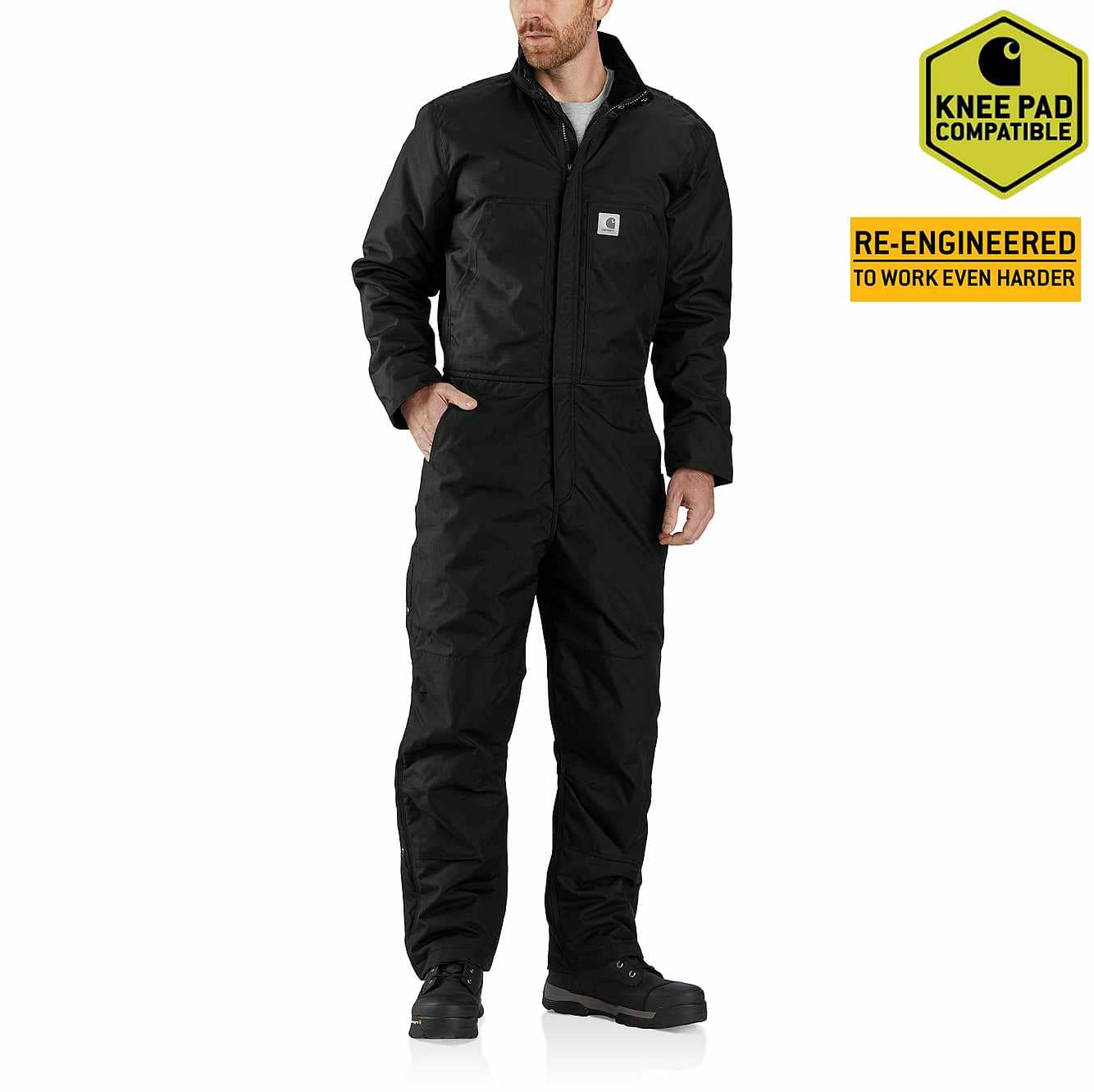 Picture of Carhartt® Yukon Extremes® Insulated Coverall in Black