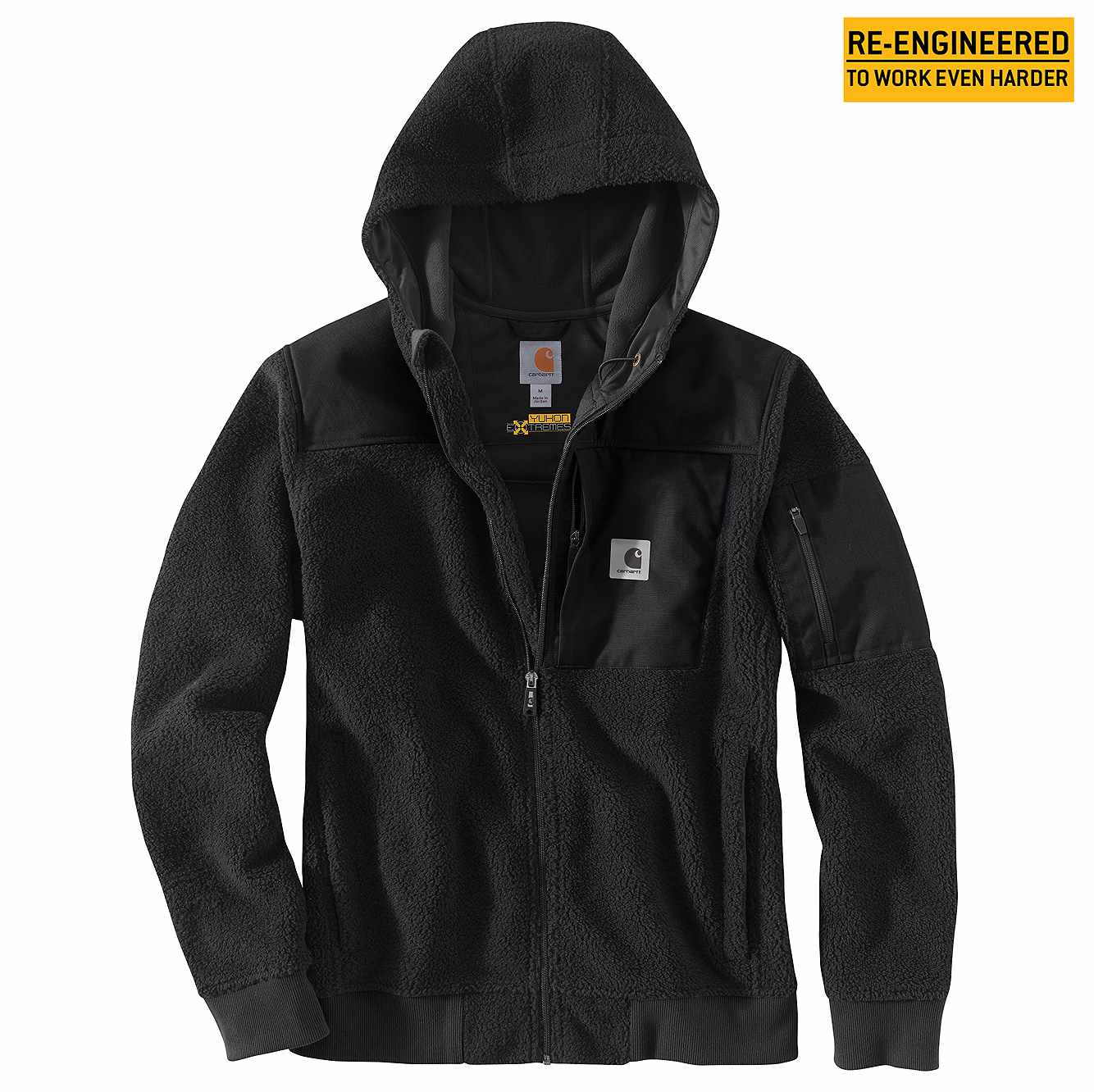 Picture of Carhartt® Yukon Extremes® Wind Fighter® Fleece Active Jac in Black