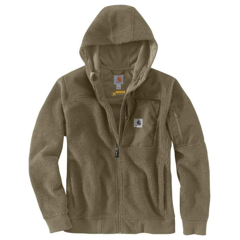 Carhartt  Burnt Olive Carhartt® Yukon Extremes® Wind Fighter® Fleece Active Jac