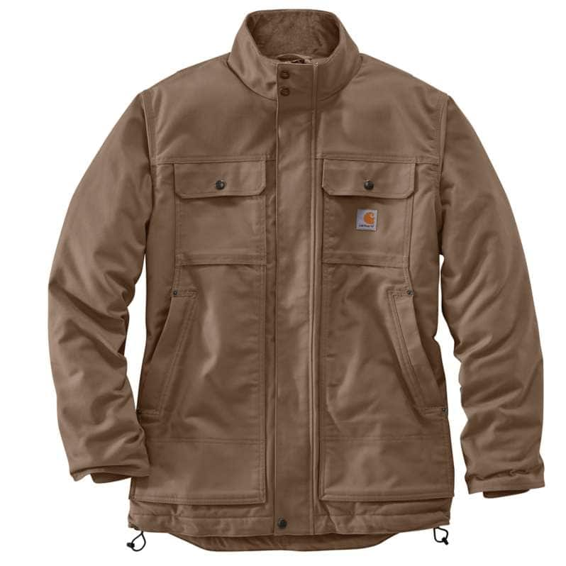 Carhartt  Canyon Brown Full Swing® Relaxed Fit Quick Duck Insulated Traditional Coat