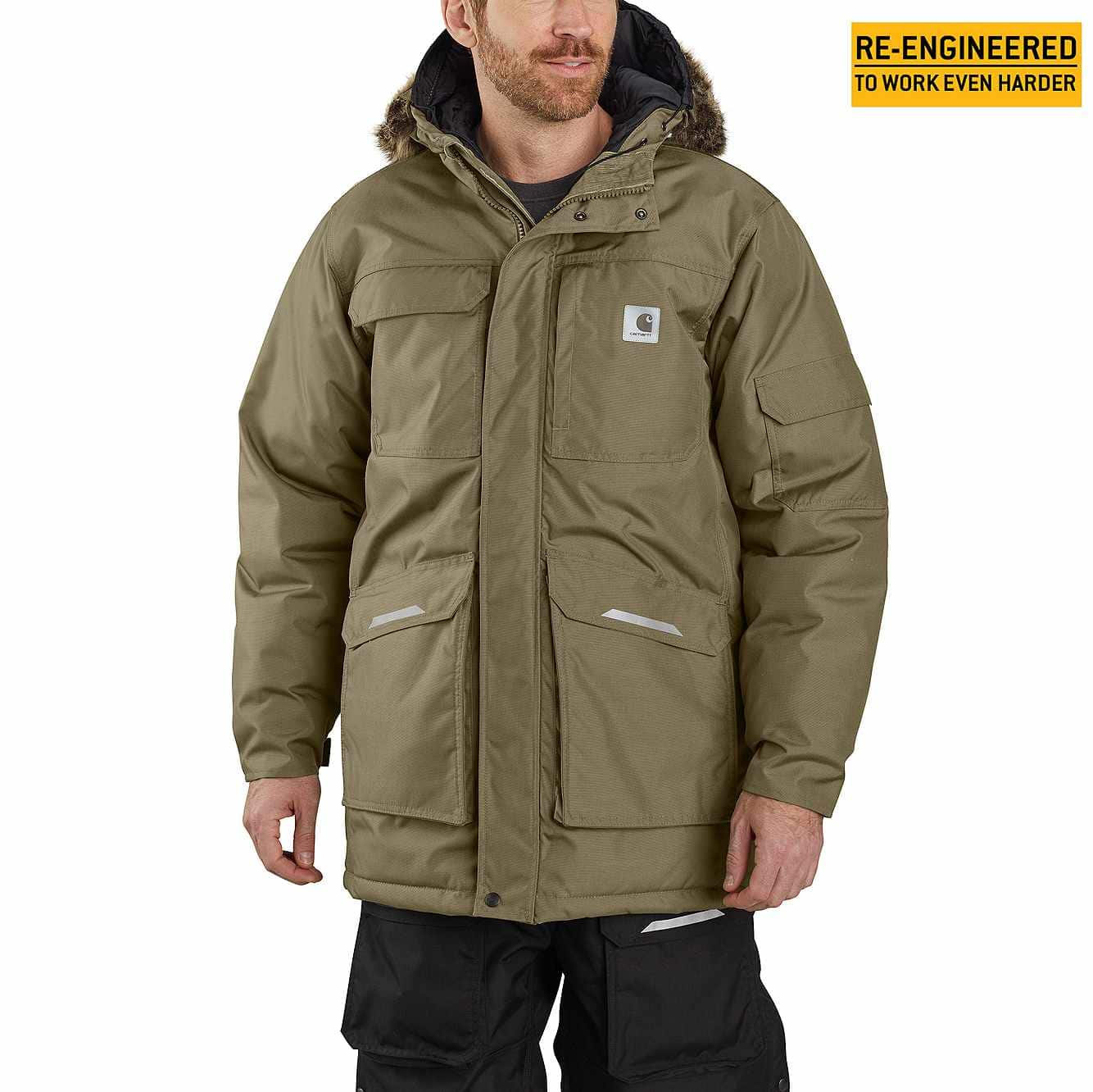 Picture of Carhartt® Yukon Extremes® Insulated Parka in Burnt Olive