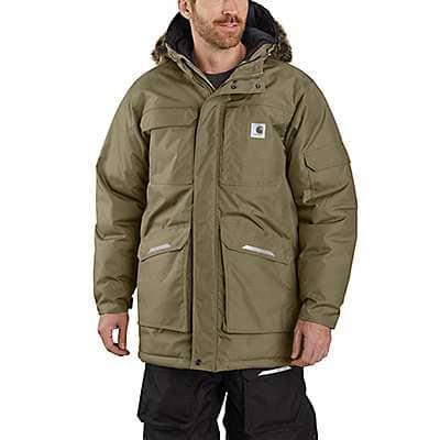 Carhartt Men's Burnt Olive Carhartt® Yukon Extremes® Insulated Parka