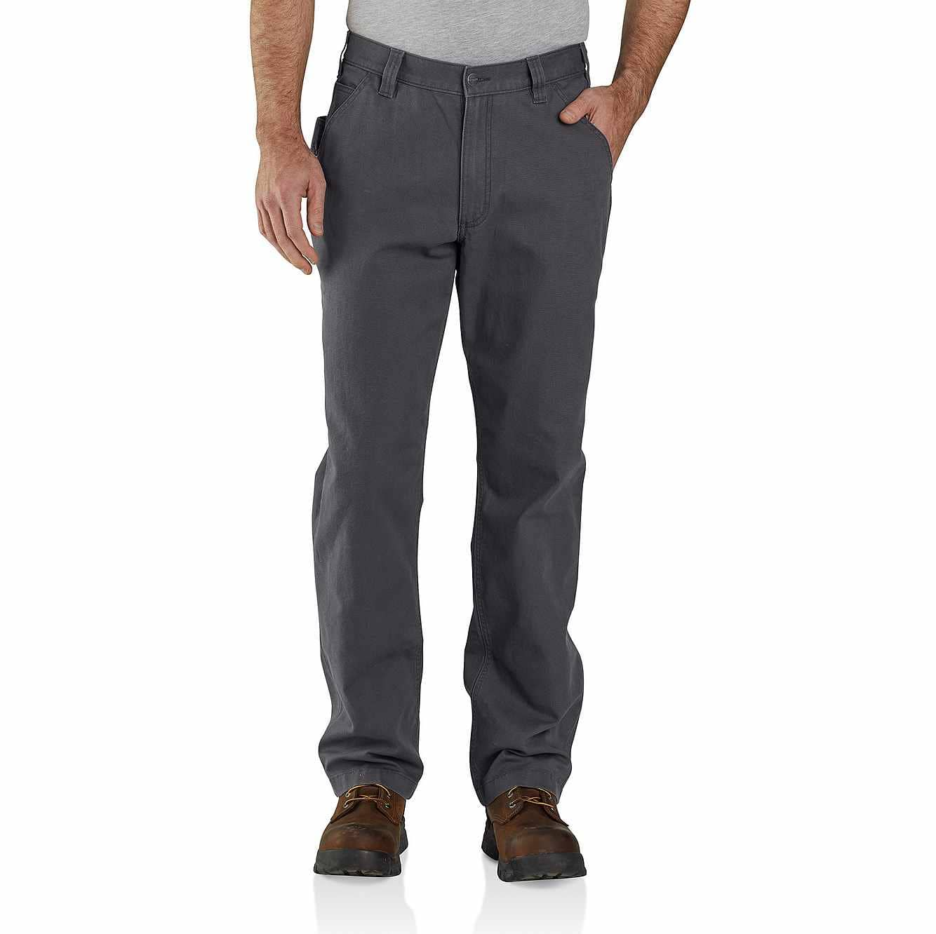 Picture of Rugged Flex® Loose Fit Canvas Work Pant in Shadow