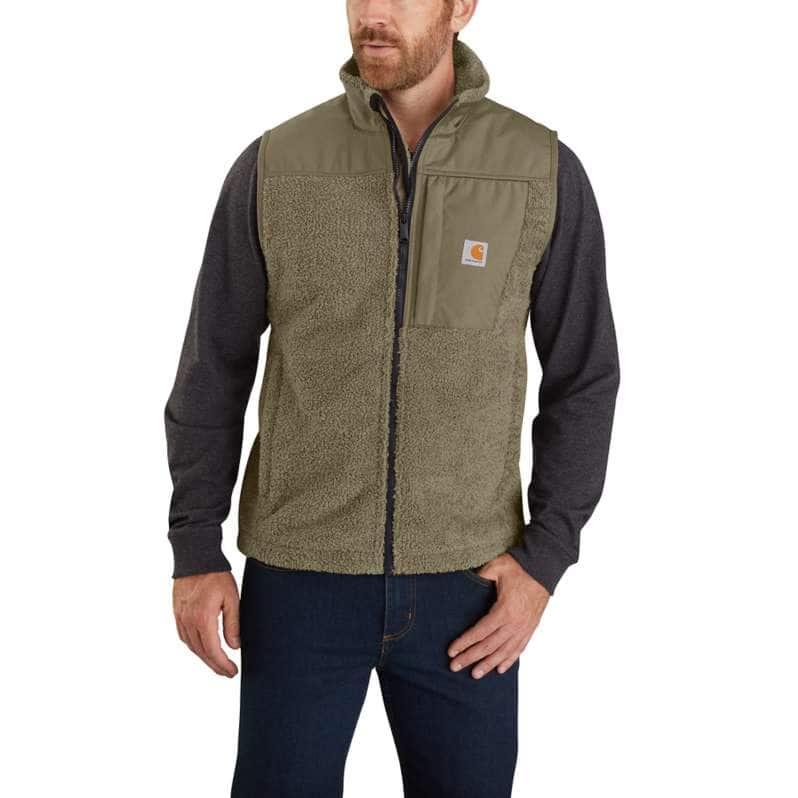 Carhartt  Burnt Olive OV4515 M Extrems WF RlxdFit Flc Vest