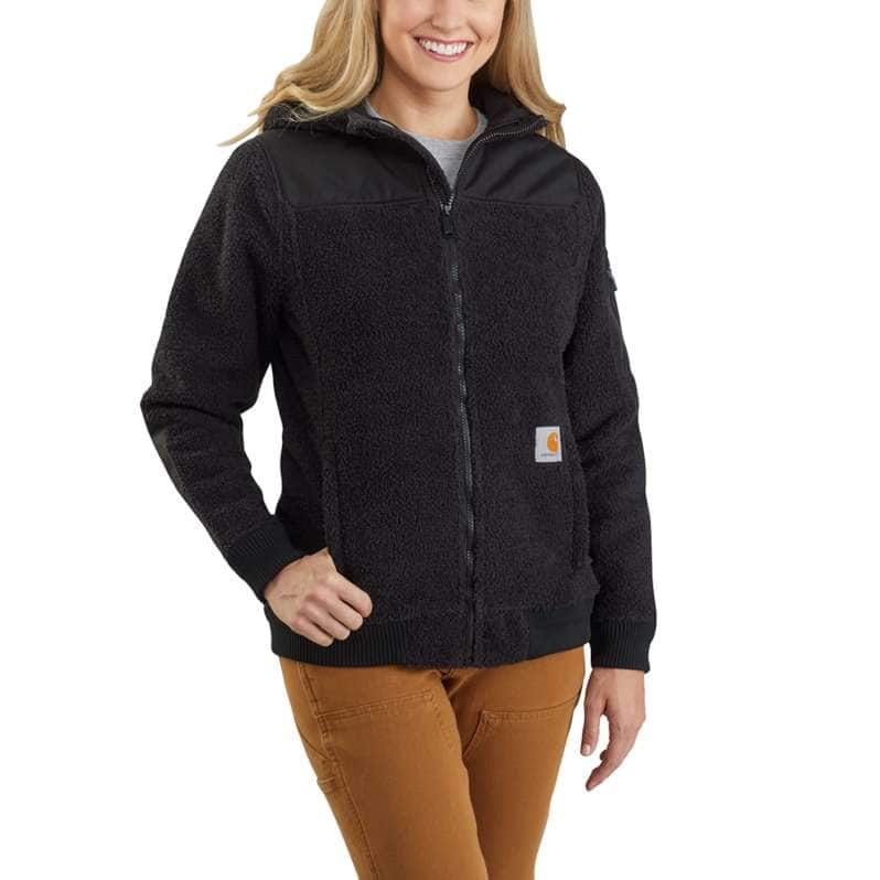 Carhartt  Black Carhartt® Yukon Extremes® Wind Fighter® Fleece Active Jac