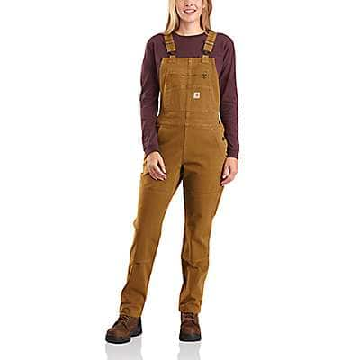 Rugged Flex® Relaxed Fit Twill Bib Overall